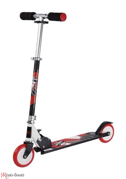 Скутер X Match Animals красно серый