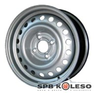 Колесный диск Trebl 8690 6 \R15 4x108 ET27.0 D65.1 Silver - фото 1