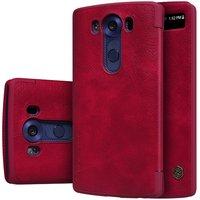 Чехол Nillkin Qin Leather Case для LG V10 H961 Red (красный)