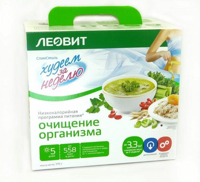 Комплексы еды для похудения