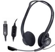 Компьютерная гарнитура Logitech PC Headset 960 USB - фото 1