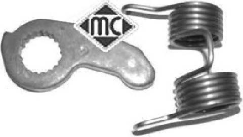 Рычажок привода педали сцепления с пружинкой vw-seat 1.6-1.9tdi Metalcaucho 04772