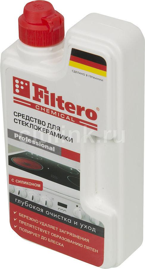 Очиститель стеклокерамики FILTERO Арт.202, для стеклокерамики, 250мл