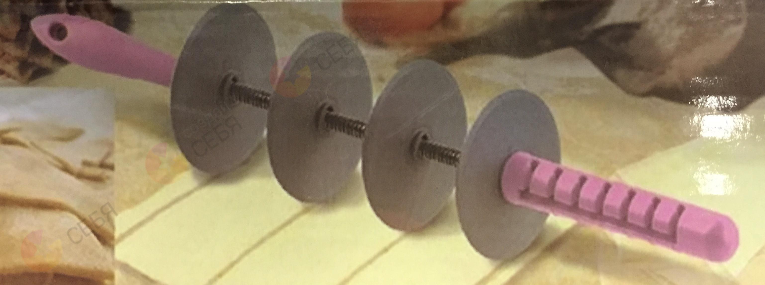 Нинбо Скалка резак для теста полосками от 3 см до 6 см