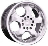 Колесные диски Racing Wheels H-102 7x15/10x100/112 D73.1 ET38 Silver - фото 1