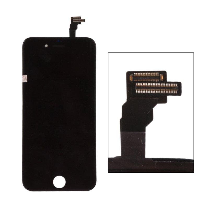 Дисплей с тачскрином LP для iPhone 6, (AAA) 1-я категория, черный