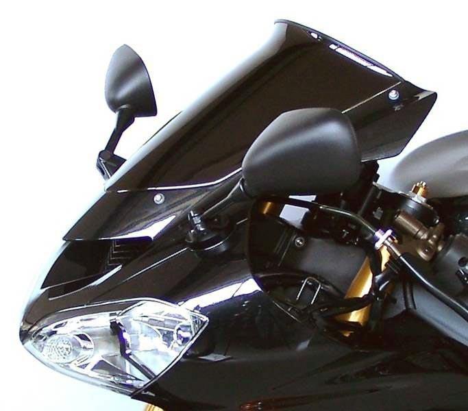 Mra Ветровое Стекло Для Zx-10R (Zxt00C) 2004-2005, Z750S 2005-2007 Spoiler S, Цвет Серый