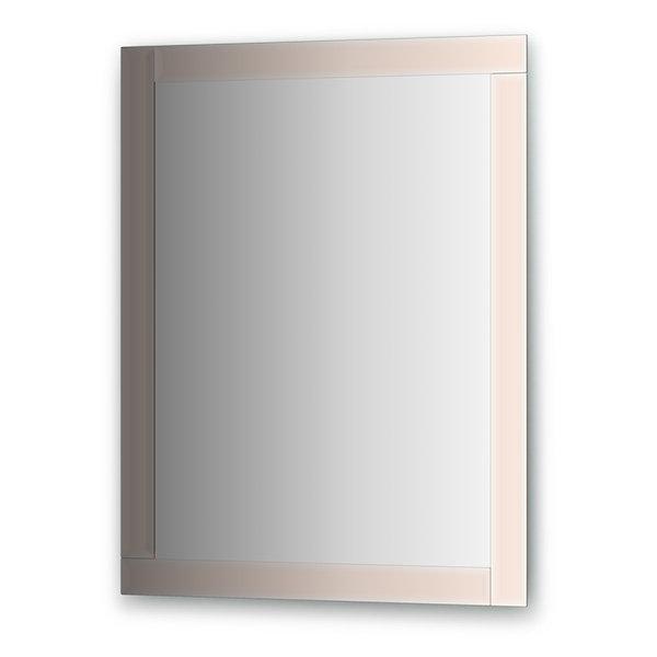 Зеркало Evoform Style (BY 0822) (с зеркальным обрамлением) (70 см) (бронза)