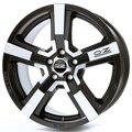 Колесные диски Oz Racing VERSILIA Diamantata 8x18 5x130 ET43 D71.6 Чёрный глянцевый с полированной лицевой частью (W0181500154) - фото 1