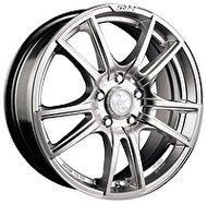 Racing Wheels H-411 7x17 5x114.3 ET 40 Dia 73.1 silver - фото 1