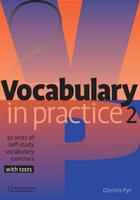 "Glennis Pye ""Vocabulary in Practice Level 2 Elementary"""