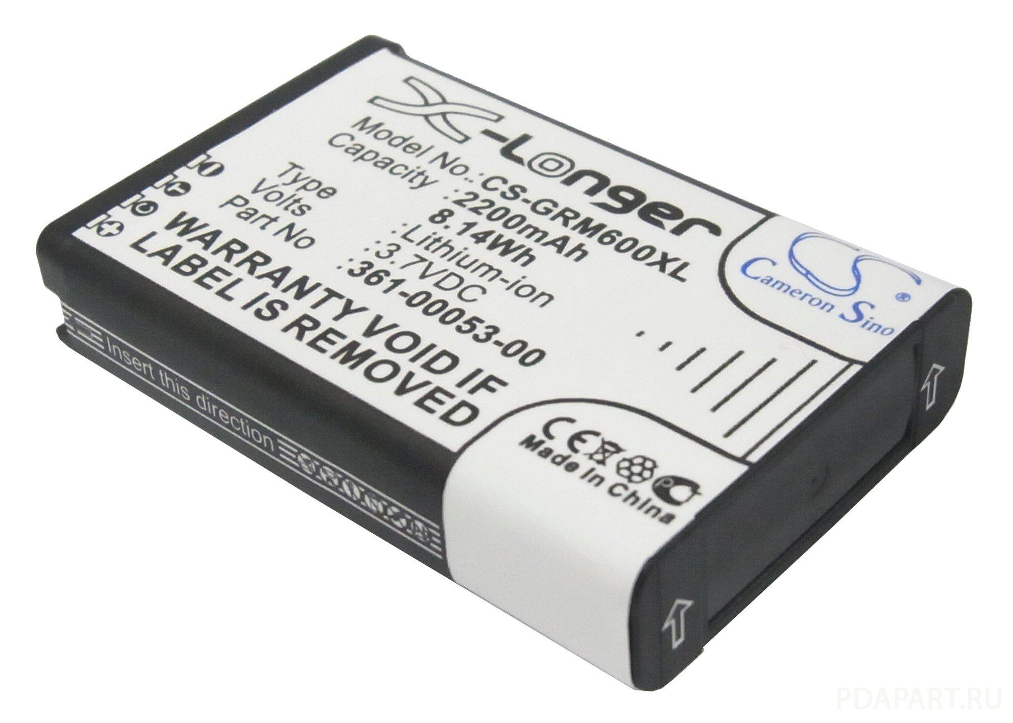 Аккумулятор для Garmin Alpha, VIRB, Montana 2200mah CameronSino