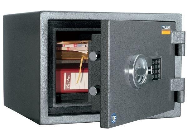 Сейфы для офиса VALBERG огнестойкий и взломостойкий Гарант 32 EL