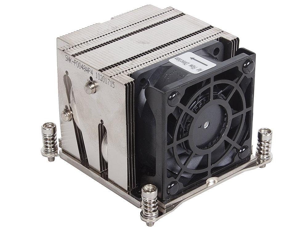 Кулер для процессора Supermicro SNK-P0048AP4 2U+ UP, DP Servers, LGA2011/LGA1356, Square and Narrow ILMs, 85x80x65