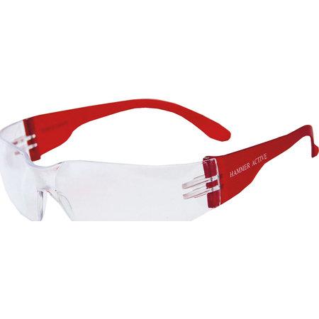 Очки защитные РОСОМЗ О15 HAMMER ACTIVE super (PC), незапотевающие РОСОМЗ GL-01050
