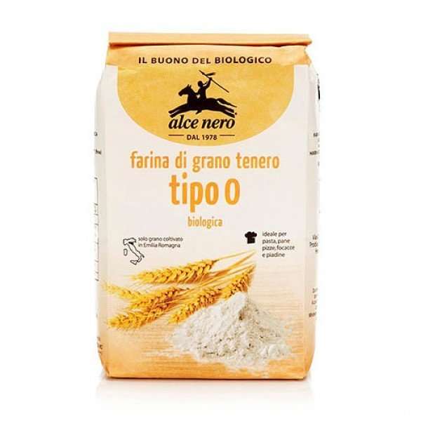 Alce Nero Alce Nero/ Мука пшеничная тонкого помола «0», 1000 г