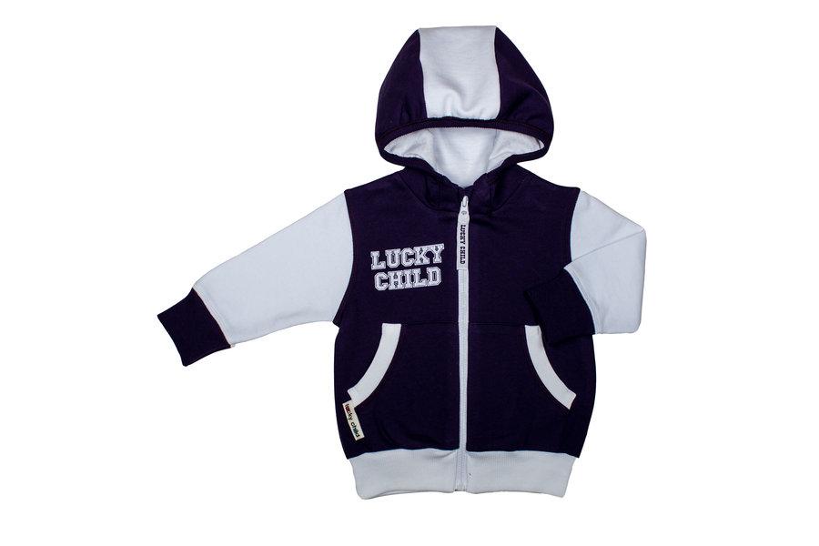 Спортивный костюм Толстовка/Брюки Lucky Child ', цвет: фиолетовый