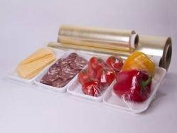 Стрейч-пленка ПВХ упаковочная пищевая 450х900 м.