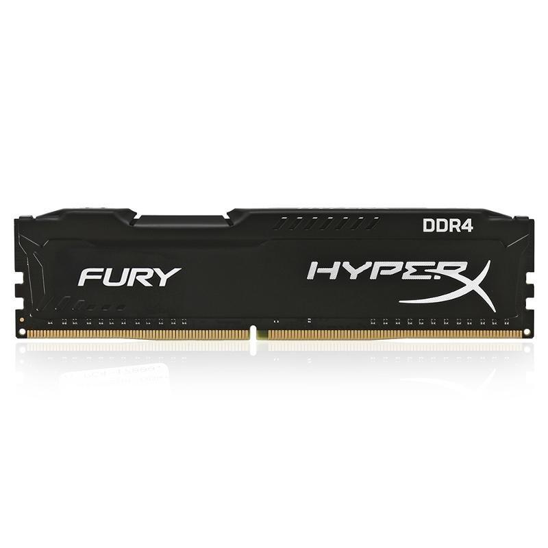DIMM DDR4, 4ГБ, Kingston HyperX Fury Black, HX421C14FB/4