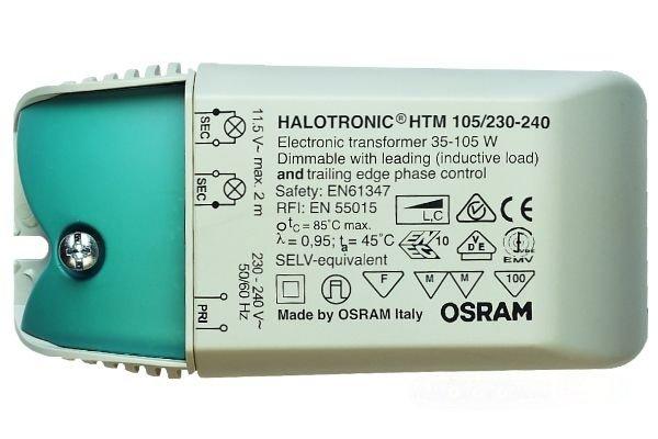 Трансформатор OSRAM HTM 105W/230-240 108x52x33 трансформатор электрон