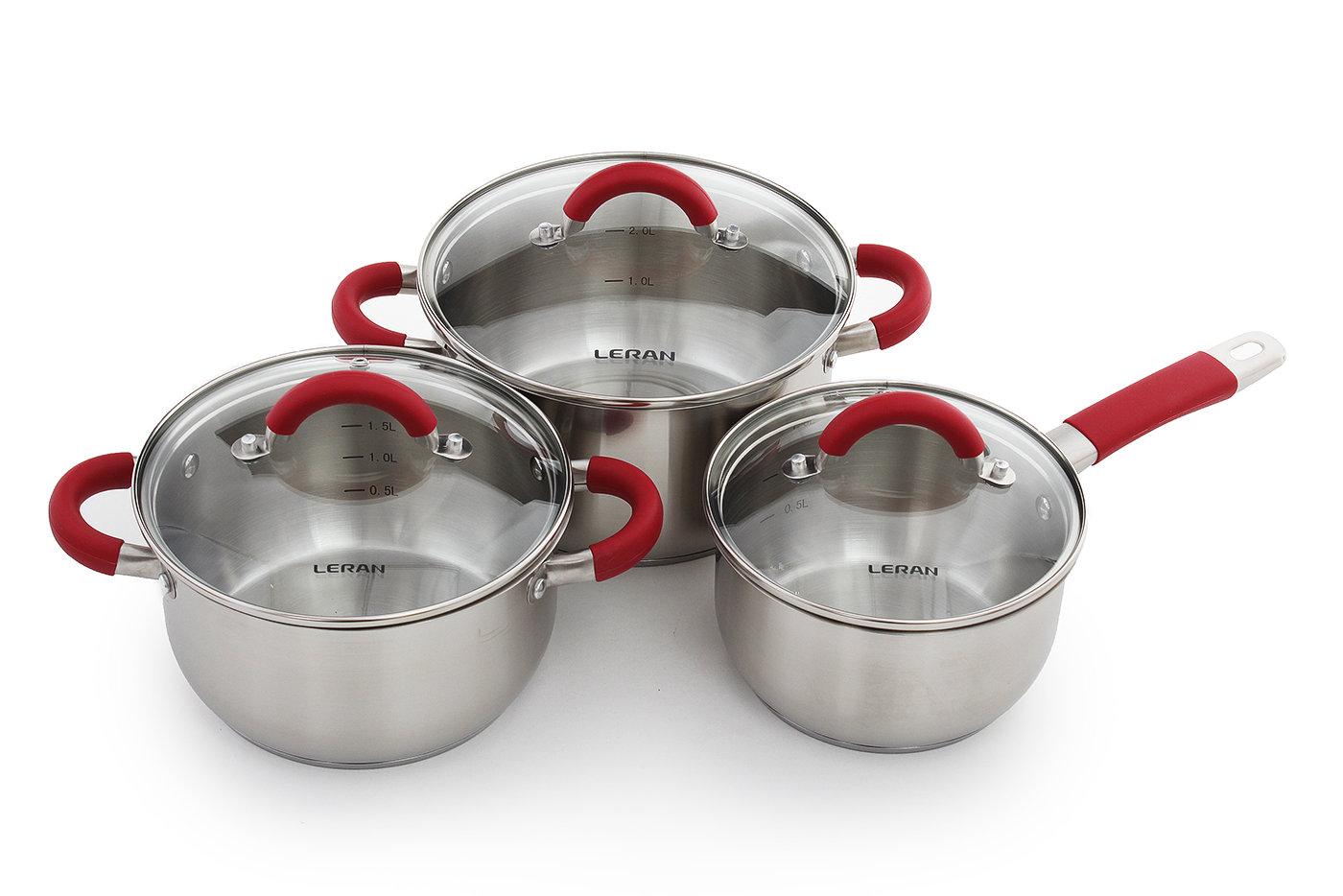 Набор посуды Leran intero cs630 b