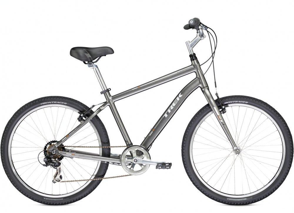 Велосипеды Комфортные Trek Shift 1 (2014) Серебристый 16,5 ростовка