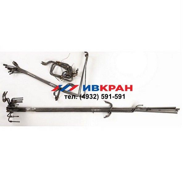 ИвКран Комплект трубопроводов на опоры КС-45717-1Р/К-3Р.31.060 (ход700,г/з83.200)