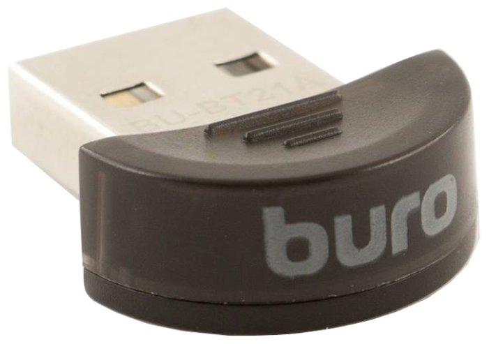Bluetooth-адаптер USB 2.0 Buro BU-BT21A Black