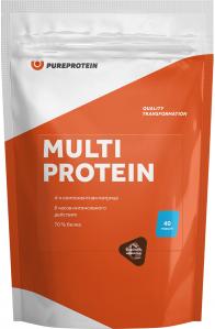 Multi Protein (1200 г), Pureprotein, Клубника