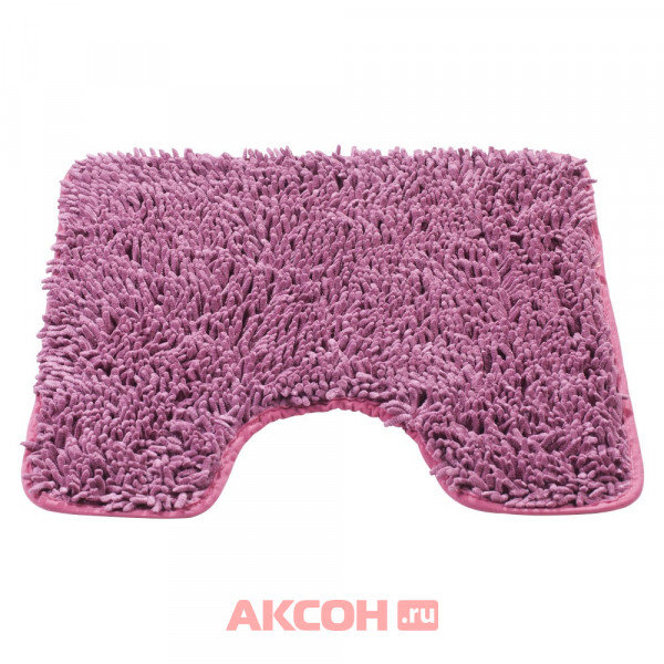 коврик для туалета 45х45см слива, полиэстер swensa