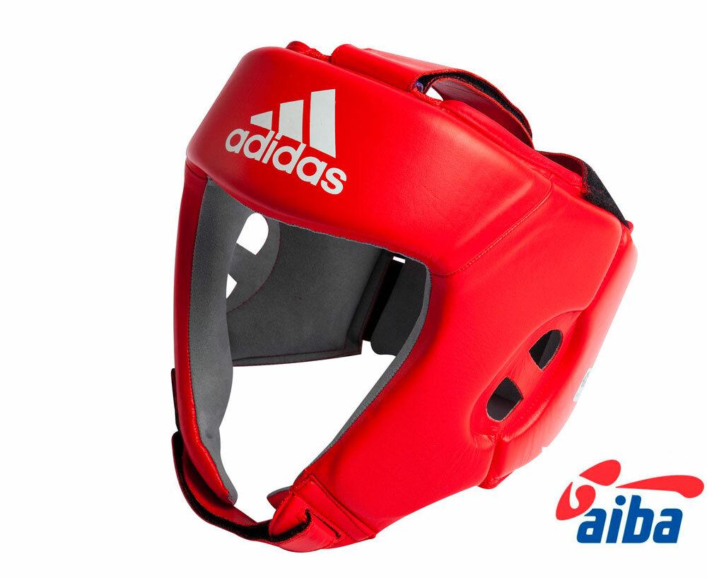 Шлем боксерский AIBA красный (размер XS)