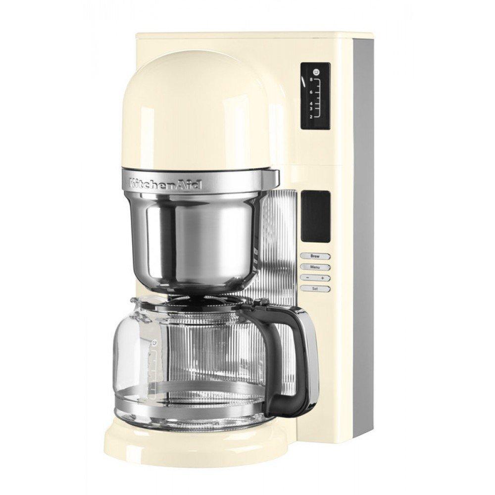 KitchenAid Капельная кофеварка KitchenAid, кремовая, 5KCM0802EAC