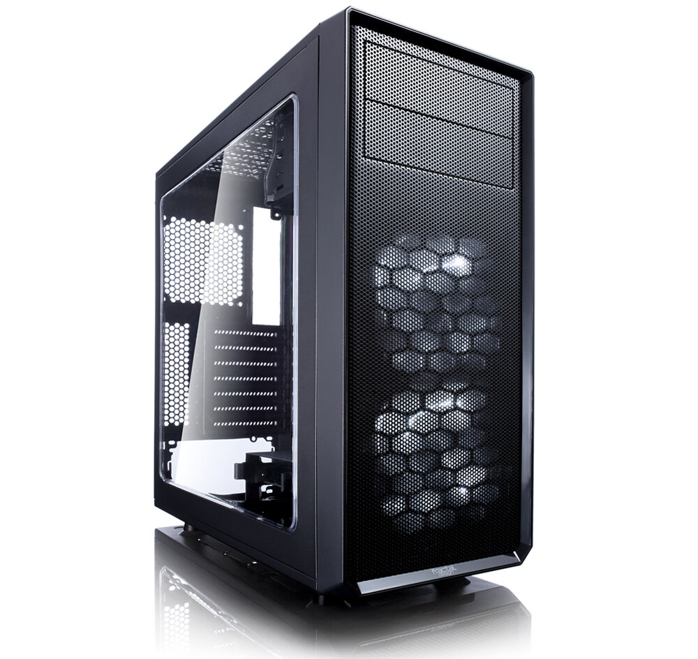 Корпус Fractal Design Focus G Black FD-CA-FOCUS-BK-W