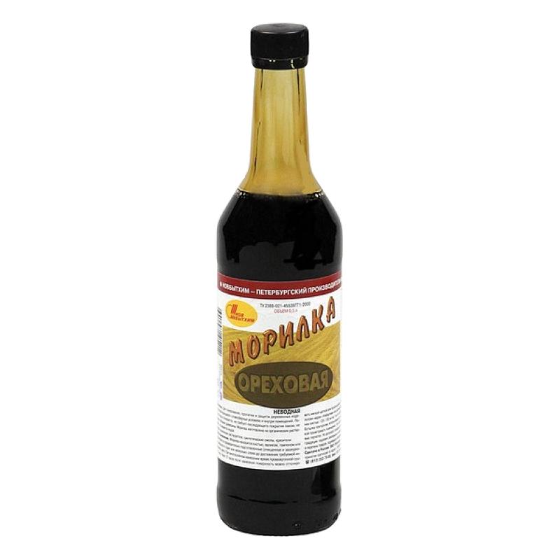 Морилка Новбытхим ореховая 0,5 л 4299