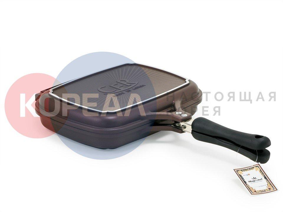 Двухсторонняя сковорода с антипригарным покрытием Magic Chef L