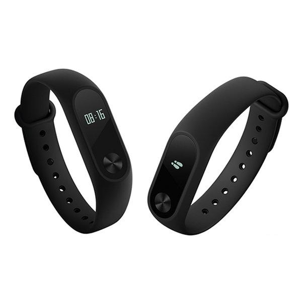 Фитнес-браслет Xiaomi Mi Band 2 с черным ремешком
