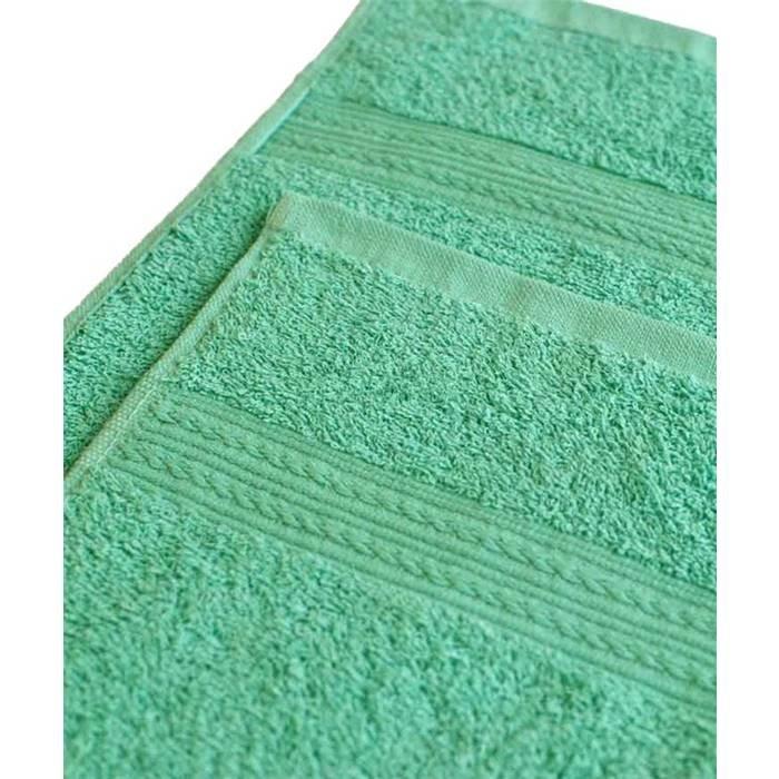 Полотенце ituma (40х70) махровое ярко-зеленый