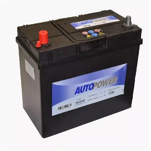 автомобильный аккумулятор Autopower A45JX 45Ач 330А Прямая полярность (238х129х227) 545 157 033