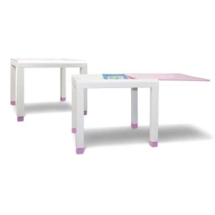 СПГ Стол детский (600х500х490)мм (розовый)