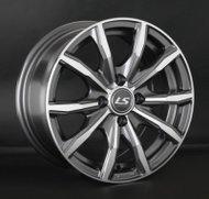 Диски LS Wheels 786 7,0x17 5x100 D73.1 ET45 цвет GMF (темно-серый,полировка) - фото 1