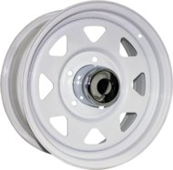 Диски R15 6x139,7 8,0J ET-16 D110,5 Trebl Off-road 01 White - фото 1