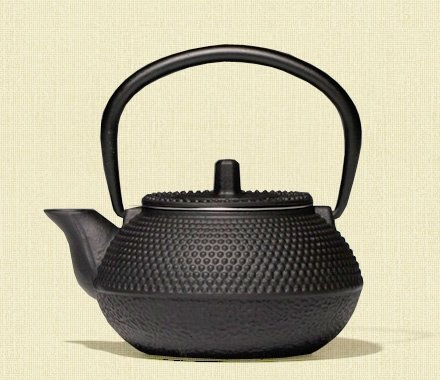 "Чугунный чайник ""Созерцание Простоты"" 800 мл."