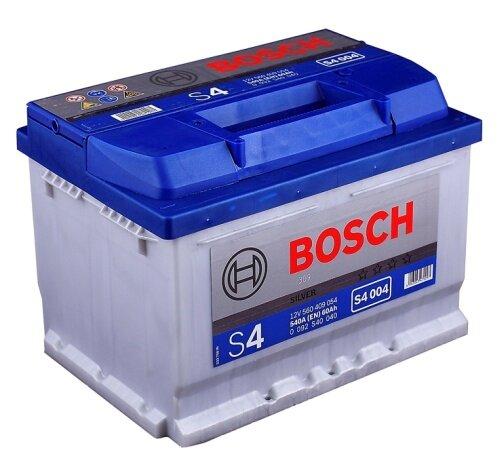 Автомобильный аккумулятор Bosch Silver S4 004 60A/h 540A