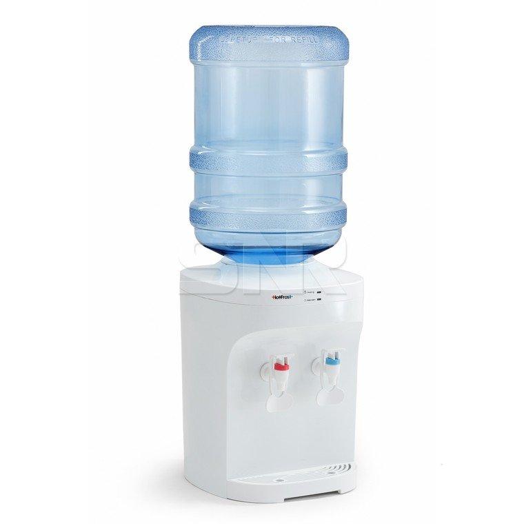 Кулер для воды HotFrost D120E, настольный, нагрев/охлаждение, 2 крана, белый, 110212001