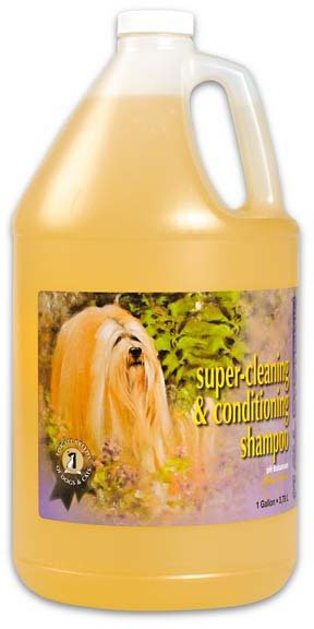 """Шампунь для кошек и собак """"Super Cleaning&Conditioning Shampoo"""" суперочищающий, 3,78 л"""