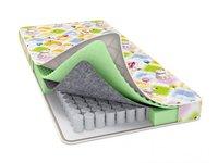 Матрас детский Райтон Baby Care 80х190 в Детскую Кроватку с Независимым Пружинным Блоком