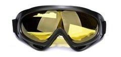 Горнолыжная маска №4 желтая