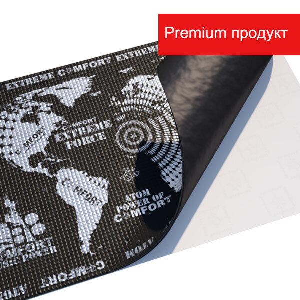 Вибропоглащающий материал Comfortmat Comfort mat ATOM - 0,5х0,7 (Толщина 4,2мм)
