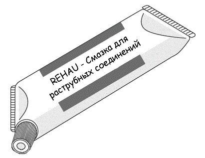 Rehau Raupiano Plus Смазка для систем внутренней канализации 500 мл