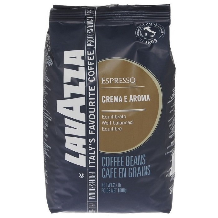 Кофе в зернах Lavazza crema e aroma espresso в зернах 1000гр